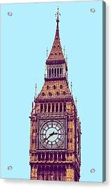 Big Ben Tower, London  Acrylic Print by Asar Studios