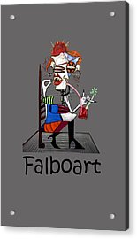 Bloody Mary Let The Dead Bury The Dead Acrylic Print by Anthony Falbo