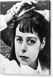 Carson Mccullers Acrylic Print by Granger