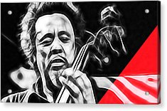 Charles Mingus Collection Acrylic Print by Marvin Blaine