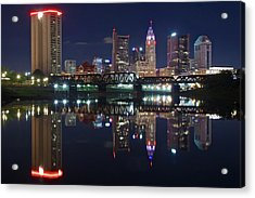Columbus Ohio Acrylic Print by Frozen in Time Fine Art Photography