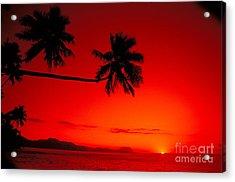 Fiji, Kadavu Island Acrylic Print by Ron Dahlquist - Printscapes