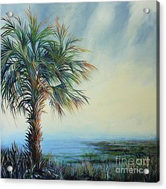Florida Horizons Acrylic Print by Michele Hollister - for Nancy Asbell