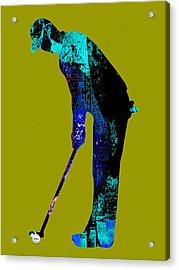 Golf Collection Acrylic Print by Marvin Blaine