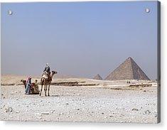 Great Pyramids Of Giza - Egypt Acrylic Print by Joana Kruse