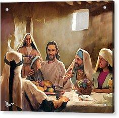 Jesus Acrylic Print by Kero Magdy