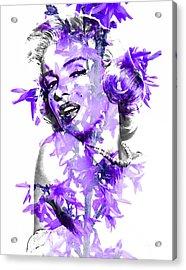 Marilyn Monroe Collection Acrylic Print by Marvin Blaine