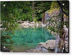 Mcdonald Creek 10 Acrylic Print by Marty Koch