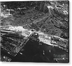 Nagasaki, 1945 Acrylic Print by Photo Researchers