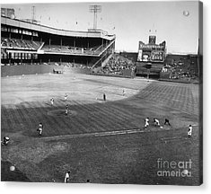 New York: Polo Grounds Acrylic Print by Granger