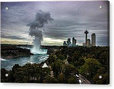 Niagara Falls Acrylic Print by Martin Newman