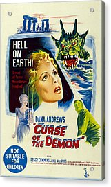 Night Of The Demon, Aka Curse Of The Acrylic Print by Everett