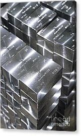 Platinum Bars Acrylic Print by RIA Novosti