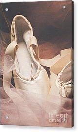 Pointe Shoes Acrylic Print by Jelena Jovanovic