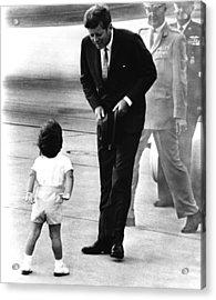 President John F. Kennedy Acrylic Print by Everett