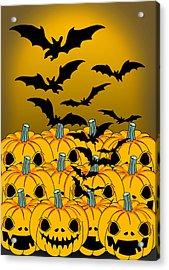 Pumpkin Acrylic Print by Mark Ashkenazi