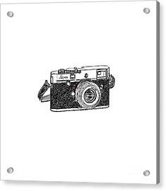 Rangefinder Camera Acrylic Print by Setsiri Silapasuwanchai