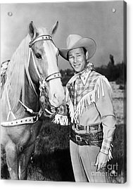 Roy Rogers Acrylic Print by Granger