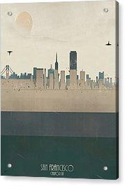 San Francisco California Acrylic Print by Bri B