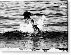 Splash Acrylic Print by Kelly Hayner
