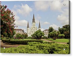 St. Louis Cathedral Acrylic Print by Scott Pellegrin