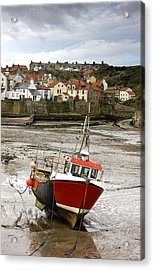 Staithes, North Yorkshire, England Acrylic Print by John Short