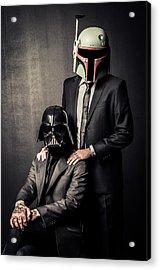 Star Wars Dressman Acrylic Print by Marino Flovent