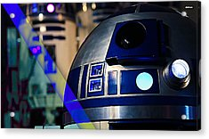 Star Wars R2-d2 Collection Acrylic Print by Marvin Blaine