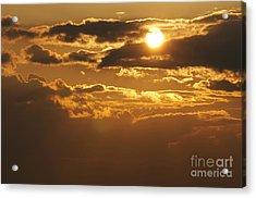 Sunset Acrylic Print by Michal Boubin