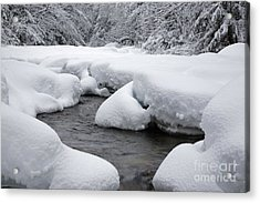 Swift River - White Mountains New Hampshire Usa Acrylic Print by Erin Paul Donovan