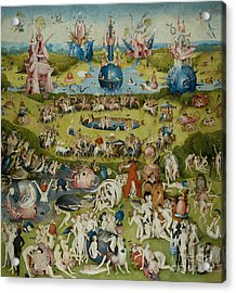 The Garden Of Earthly Delights Acrylic Print by Hieronymus Bosch