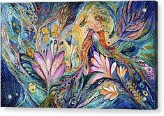 The Sea Song Acrylic Print by Elena Kotliarker
