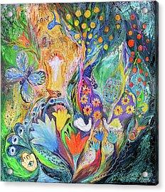 The Spirit Of Jerusalem Acrylic Print by Elena Kotliarker