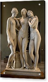 The Three Graces Acrylic Print by Carl Purcell