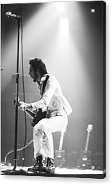 The Who's Pete Townshend 1972 Acrylic Print by Chris Walter