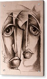'together' Acrylic Print by Michael Lang