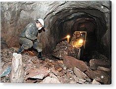 Uranium Mining Acrylic Print by Ria Novosti