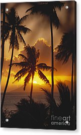 View Of Tahiti Acrylic Print by Joe Carini - Printscapes
