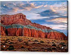 Wild Horse Mesa Acrylic Print by Utah Images