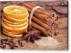Winter Spices Acrylic Print by Nailia Schwarz