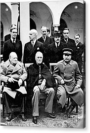 Yalta Conference, 1945 Acrylic Print by Granger