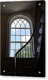 Davenport House Window Acrylic Print by Laurie Perry