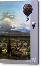 200 Years Of Ballooning Acrylic Print by Jane Whiting Chrzanoska