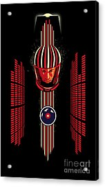 2001 Spaceman Acrylic Print by Sassan Filsoof