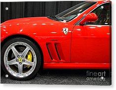 2003 Ferrari 575m . 7d9389 Acrylic Print by Wingsdomain Art and Photography