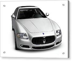 2009 Maserati Quattroporte S Acrylic Print by Oleksiy Maksymenko
