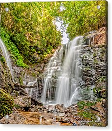 Rocky Falls Acrylic Print by Christopher Holmes