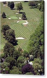 2nd Hole Philadelphia Cricket Club St Martins Golf Course Acrylic Print by Duncan Pearson