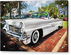 1959 Lincoln Continental Town Car Mk Iv Painted  Acrylic Print by Rich Franco