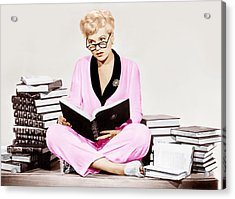 Born Yesterday, Judy Holliday, 1950 Acrylic Print by Everett